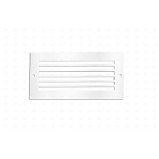 ABL240BZ/WH - Open & Slotted White Bezel for ABL240BK/40 Brick Light