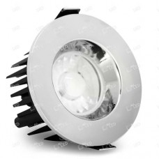 AFD010BZ/PC - Polished Chrome Bezel for 10W IP65 Dimmable LED Fire Rated Downlight