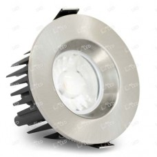 AFD010BZ/SN - Satin Nickel Bezel for 10W IP65 Dimmable LED Fire Rated Downlight