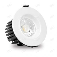 AFD010D/40 - 10w Fire Rated Dimmable COB LED Downlight 4000K Cool White