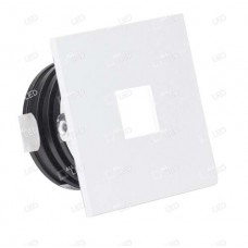ALSQ032OP/WH/40 - White Square Low Level Marker Light 1W 4000K