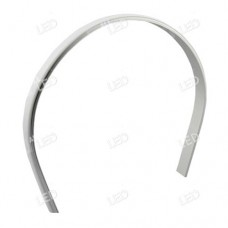 APAC06 - Flexible Aluminium Profile Click in Frosted Polycarbonate Diffuser for LED Strip