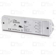 ASC/WIFI/REC - RF Receiver Constant Voltage, for single colour, or CCT or RGB or RGBW LED Lights