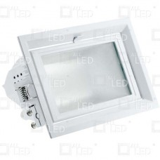 AWW042WH/40/1-10/EM  - Rectangular LED Wash Commercial Fixture