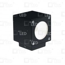 AWL02/BK - 6w Black Up/Down Wall Light