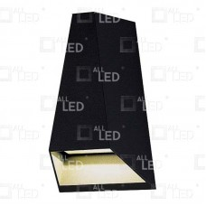 AWL03/BK - 6w Black Up/Down Wall Light