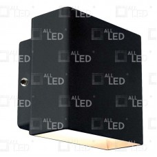 AWL06/BK - 5w Black Up/Down Wall Light