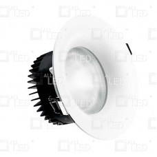 ACR10019W/40/1-10/EM - 19w 0-10v Dimmable & Emergency Commercial Downlight 4000K